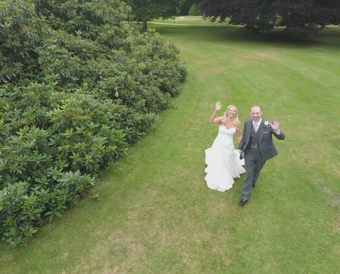 Aerial Wedding Film