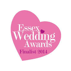 Essex wedding award Finalist 2014